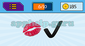 EmojiNation: Emojis Kiss, Tick Answer