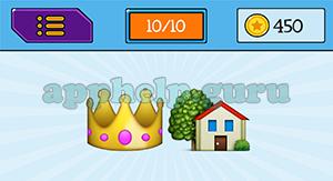 EmojiNation: Emojis Crown, House Answer