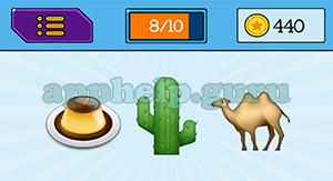 EmojiNation: Emojis Dessert, Cactus, Camel Answer