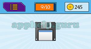 EmojiNation: Emojis Disk Answer