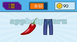 EmojiNation: Emojis Chili, Pants Answer