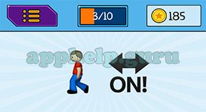 EmojiNation: Emojis Walk, On Arrow Answer
