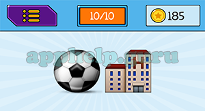 EmojiNation: Emojis Ball, Building with H Answer