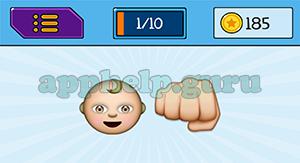 EmojiNation: Emojis Baby, Fist Answer