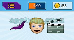EmojiNation: Emojis Bat, Boy, Movie Answer