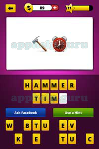 Guess The Emoji: Emojis Hammer, Alarm clock Answer - Game ...