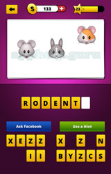 Guess The Emoji Mouse Rabbit Hamster