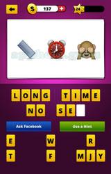 Guess The Emoji: Emojis Ruler, Alarm clock, See no evil ...
