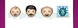 Guess The Emoji: Emojis Baby, Man wearing turban, Old man, Statue of Liberty Answer