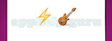Guess The Emoji: Emojis Lightning strike symbol, Electric guitar Answer