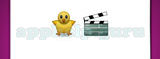 Guess The Emoji: Emojis Baby chick with body, Clapper board Answer