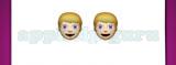 Guess The Emoji: Emojis Boy with blonde hair and blue eyes, Boy with blonde hair and blue eyes Answer
