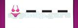 Guess The Emoji: Emojis Bikini, Black minus sign, Black minus sign, Black minus sign Answer