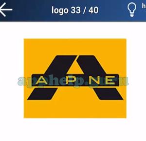 Quiz Logo Game: Level 10 Logo 33 Answer