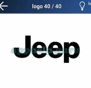 Quiz Logo Game: Level 10 Logo 40 Answer