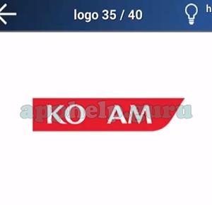 Quiz Logo Game: Level 15 Logo 35 Answer
