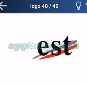 Quiz Logo Game: Level 15 Logo 40 Answer