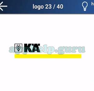 Quiz Logo Game: Level 19 Logo 23 Answer