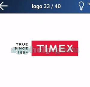 Quiz Juego de Logotipos: Nivel 6 Logo 33 Respuesta