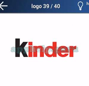 Quiz Juego de Logotipos: Nivel 6 Logo 39 Respuesta