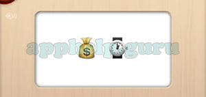 solve the emoji level 132 money bag watch answer game help guru