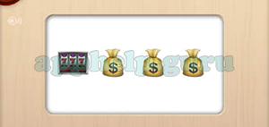 Level 76 to 100 Slot Machine, Money Bag, Money Bag, Money Bag