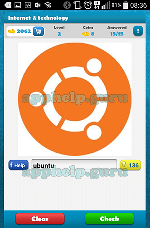 scratch and guess logo internet and technology level 2