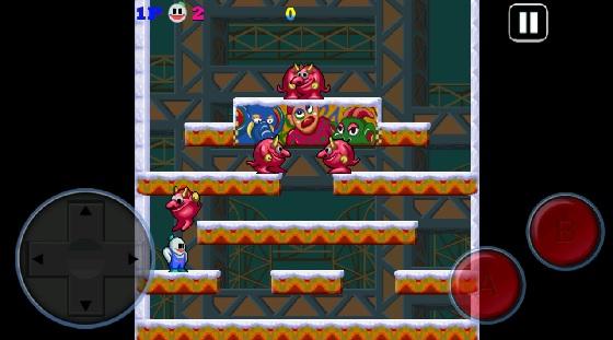 Snow Bros Screenshot 1