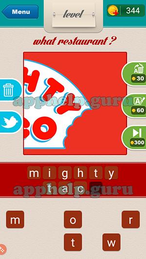 restaurant logo game cheats level 101 12 000 vector logos