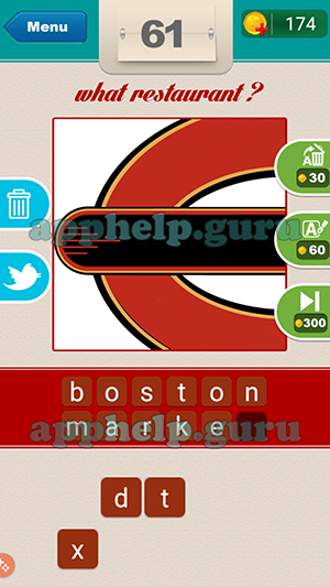 what restaurant bosphorus mobile level 61 answer game help guru