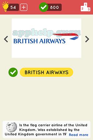 United Kingdom Level 3, Logo 3 Answer
