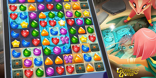 Wishes are granted in spellbinding match-3 puzzle adventure
