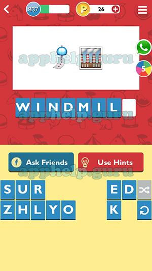 GuessUp Emoji: Level 337 Emoji 3 Answer - Game Help Guru