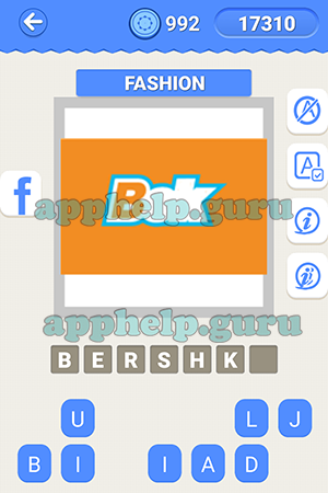 Fashion Logo Quiz Answers Facebook Latest Trend Guess The Brand