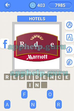 Level 10 Hotels Lv1, Icon 25 Answer