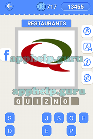 Logo Quiz Ultimate Logo Quiz Icomania Level 19 Restaurants Lv1
