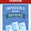 Slogan Logo Quiz: Slogan Impossible Is Nothing Answer