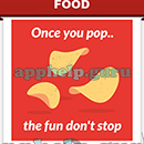 Slogan Logo Quiz: Slogan Once You Pop The Fun don't Stop Answer