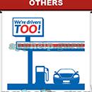Slogan Logo Quiz: Slogan We're Drivers Too Answer