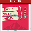Slogan Logo Quiz: Slogan Eat Sleep Ride Answer