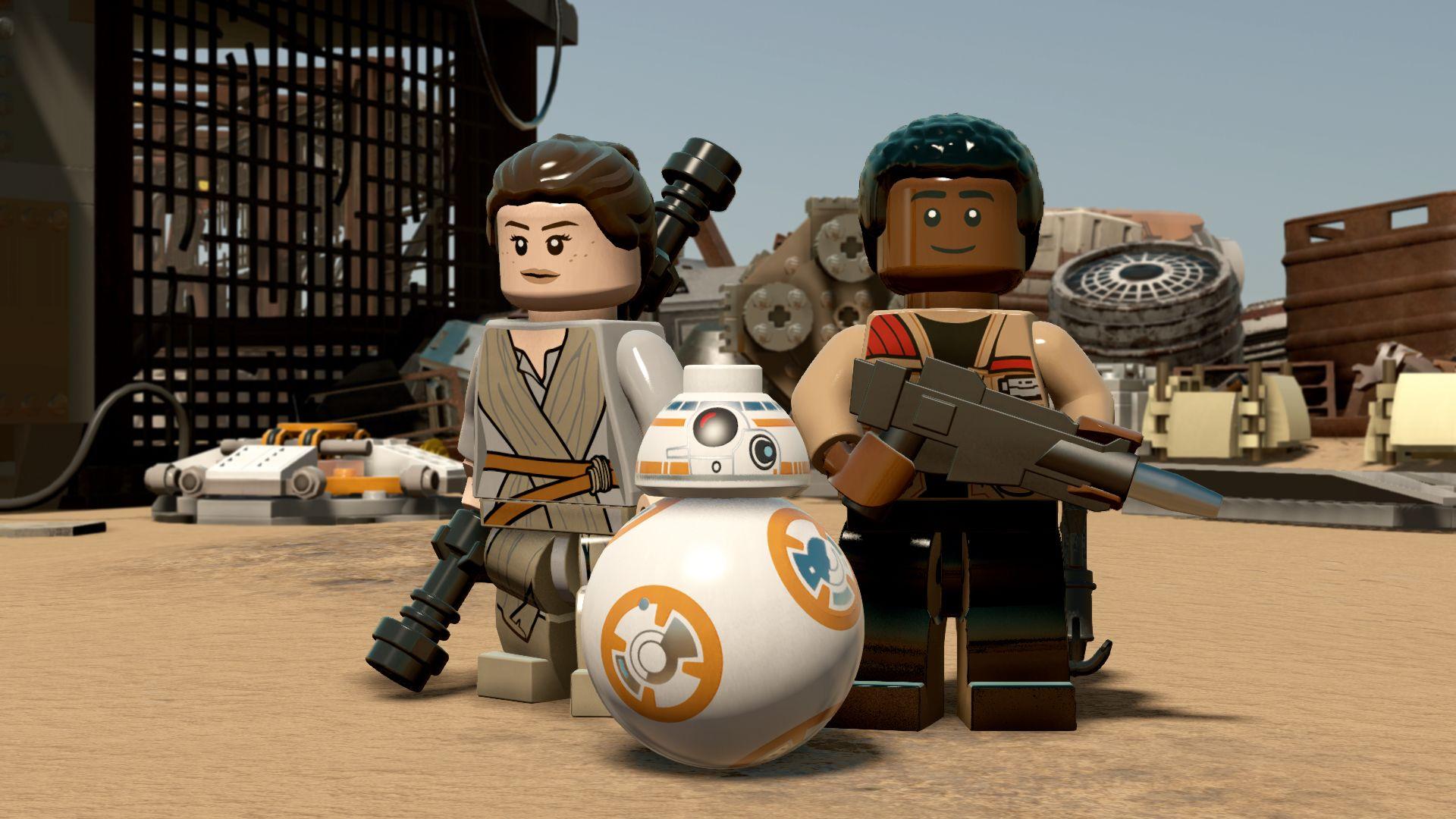 Screenshot of Lego Star Wars The Force Awakens
