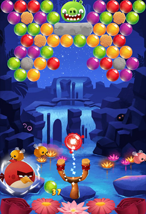 Angry Birds Pop Screenshot 1