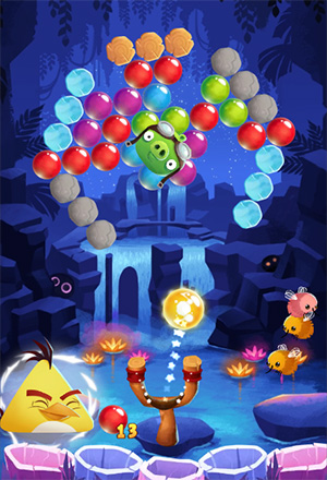 Angry Birds Pop Screenshot 3