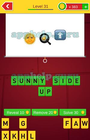 Level 31 guess the emoji