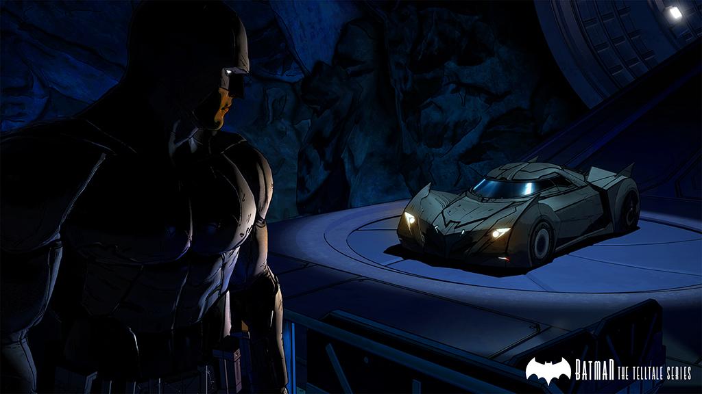 Telltale's Batmobile