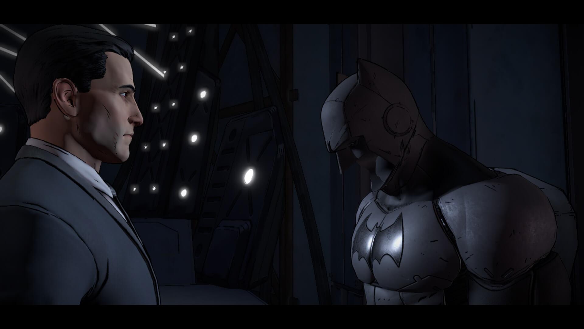 Screenshot of Batman: The Telltale Series