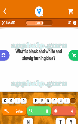 First Letter: W What is black and white and slowly turning blue?