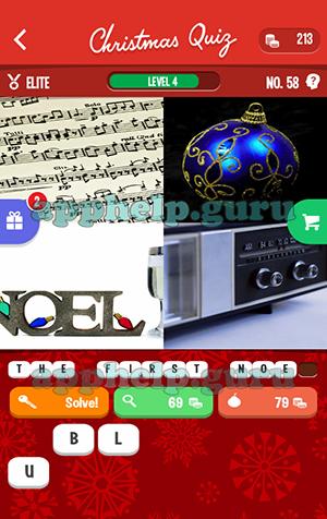 Christmas Quiz 58