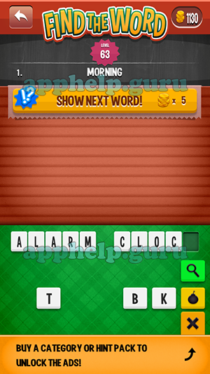 Find The Word Apprope Arcade Level 63 Answer Game Help Guru