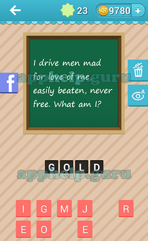 i drive men mad for love of me